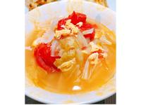 蕃茄蔬菜蛋花湯