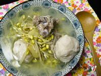 黃豆芽排骨湯