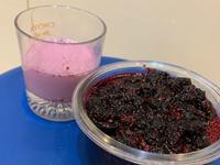 果汁時刻👅桑椹牛奶果汁🍹桑葚果醬