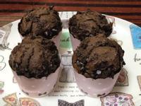 巧克力馬芬-濃厚濕潤版(朱古力蛋糕)