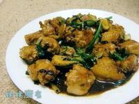 薑葱豆豉炒雞翼