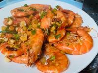 拌炒鹹酥蝦
