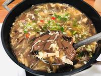 酸辣湯(無紅蘿蔔和筍絲)