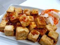 【氣炸鍋】水豆腐+沾醬
