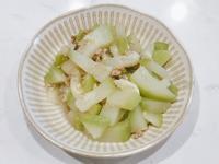 絞肉炒瓠瓜