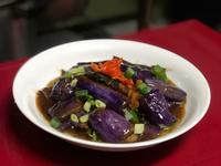塔香茄子🍆-紫紫發亮的家常料理