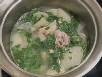 大頭菜雞湯
