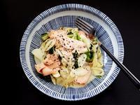 食煮#24 奶油煙燻鮭魚義大利麵