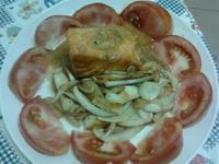 Y芬的小廚房-橘醬鮭魚