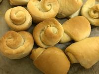 <中筋麵粉版>麵包機-奶油麵包