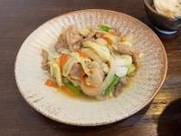 日式《味增拌炒雞》鶏の味噌炒め定食