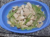 芹菜炒杏鮑菇