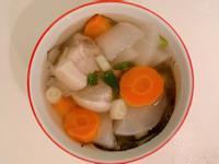 新手人妻の蘿蔔排骨湯