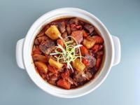 番茄紹興牛肉煲