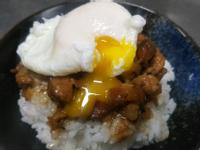 手切魯肉飯-水波蛋