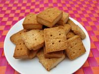 【全素】肉桂奶油乳酪方塊餅乾(無蛋)