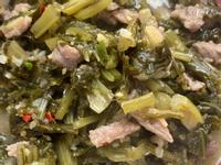 水醃菜炒肉