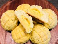 瑞典美食主題 -脆皮菠蘿紫薯奶酥麵包