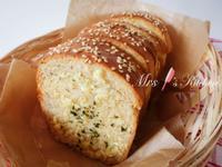 【影片】奶油香蒜麵包
