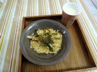 豆渣蔬菜煎餅