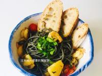 檸檬海鮮墨魚麵