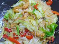 蔬食炒米粉