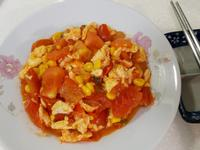 玉米蕃茄炒蛋