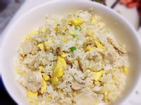 《奶油雞片炒飯》---大賀米好料理