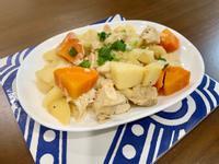 無油馬鈴薯和風燉雞-智慧萬用鍋