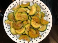 炒櫛瓜 zucchini