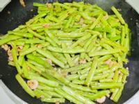 家常 炒四季豆