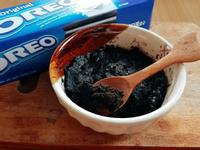 只要牛奶跟OREO就能做的蛋糕ಠﭛಠ