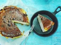 【氣炸料理】超簡單巴斯克乳酪蛋糕