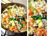 鮪魚蔬菜蛋炒飯