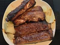 氣炸鍋-碳烤豬肋排