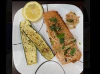 味噌鮭魚(配節瓜)