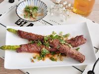 沙茶牛肉蘆筍捲