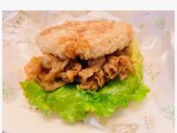 醬燒豬肉米漢堡