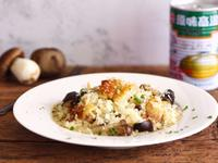 雞肉蕈菇燉飯