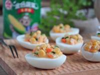 玉米鮪魚沙拉蛋