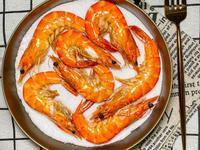 氣炸鹽烤蝦(3分鐘上桌享用最純粹的蝦味)