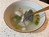 高蛋白水煮鱸魚湯🐟