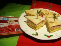 [博客]蛋沙拉慕尼黑火腿三明治
