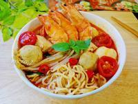 南洋風叻沙鮮蝦麵