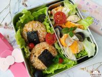 鮭魚鬆起司飯糰♥