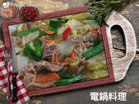梅花肉炒大白菜
