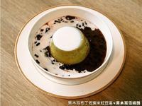黑木耳布丁佐紫米紅豆湯.柯媽媽の植物燕窩