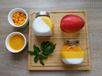 雙層芒果鮮奶酪,無鮮奶油0負擔