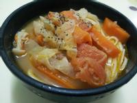清空冰箱的營養食譜--義式蕃茄蔬菜湯