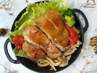 醬燒雞腿排佐菇菇〞簡易低醣料理